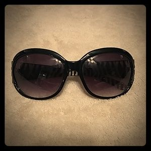 Guess sunglasses with zebra print
